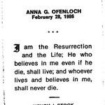Ofenloch, Anna G. - 1986