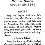 Dubon, Cecilia - 1987