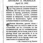 Froehlich, Bernard Andrew - 1997