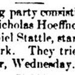 Hempstead Sentinel - A hunting Party - Nov. 25, 1897