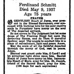 Schmitt, Ferdinand - 1937