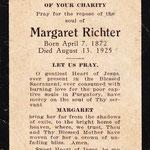 Richter, Margaret - 1925