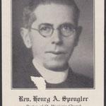 Spengler, Rev. Henry A. - 1935