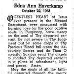 Haverkamp, Edna Ann - 1963