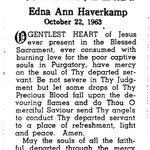 Haverkamp, Edna Ann - 1963