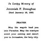 Donoghue, Jeremiah F. - 1981