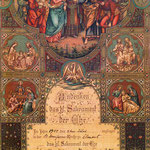 March, Joseph and Rottkamp, Mary - Marriage Cert., 1907 - St. Boniface