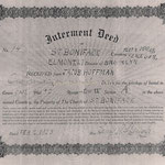 Hoffman, Jacob - Cemetery Deed 1913 - St. Boniface