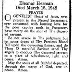 Herman, Eleanor - 1948