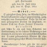 Holtz , Elisabeth -1914