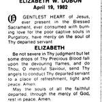 Dubon, Elizabeth - 1958