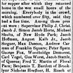 Hempstead Sentinel - Belmont Fire Dept. - Jan. 2, 1908