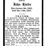 Kiefer, John - 1927