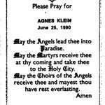 Klein, Agnes - 1990