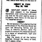 Finn, Henry M - 1986