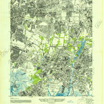 1947 Lynbrook and surounding area (Elmont)  (Army Map Service, Corps of Engineers, War Department)