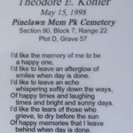 Kohler, Theodore E. - 1998