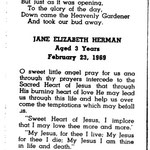 Herman, Jane Elizabeth - 1969