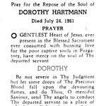 Hartmann, Dorothy - 1961