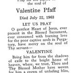 Pfaff, Valentine - 1963