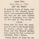 Finn, Louis - 1952