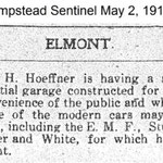 Hempstead Sentinel - Hoeffner Garage - May 12, 1912
