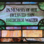 In Memory of Our Beloved Son, Frederich Walter