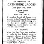 Jacobs, Catherine - 1934
