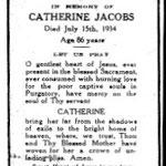 Jacobs, Catherine - 1934