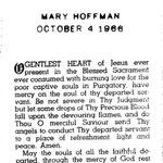Hoffman, Mary - 1966