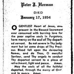 Herman, Peter J. - 1954