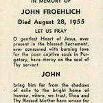Froehlich, John - 1955