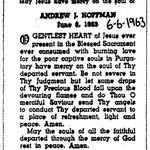 Hoffman, Andrew J. - 1963