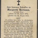 Hartmann, Margareth - 1915