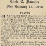 Fausner, Chris C. - 1940