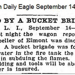 Brooklyn Daily Eagle - Wagon repository fire - Sept. 14, 1900