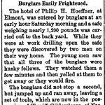 Long Island Farmer - Burglars Frightened - April 21, 1905