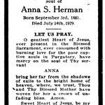 Herman, Anna S. - 1929