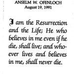Ofenloch, Anselm W. - 1991