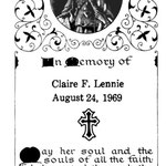 Lennie, Claire F. - 1969