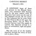 Reisert, Caroline - 1951
