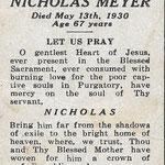 Meyer, Nicholas - 1930