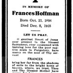Hoffman, Frances - 1918