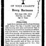 Hartmann, Henry - 1924