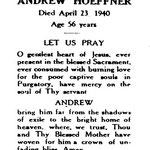 Hoeffner, Andrew - 1940