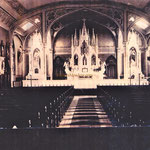 St. Boniface RC Church - interior c. 1910 (1869-1966)