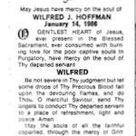 Hoffman, Wilfred J. - 1986