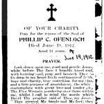 Ofenloch, Phillip C. - 1912