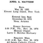 Mattern, Anna A. - 1978