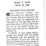 Finn, Mary T. -  1983